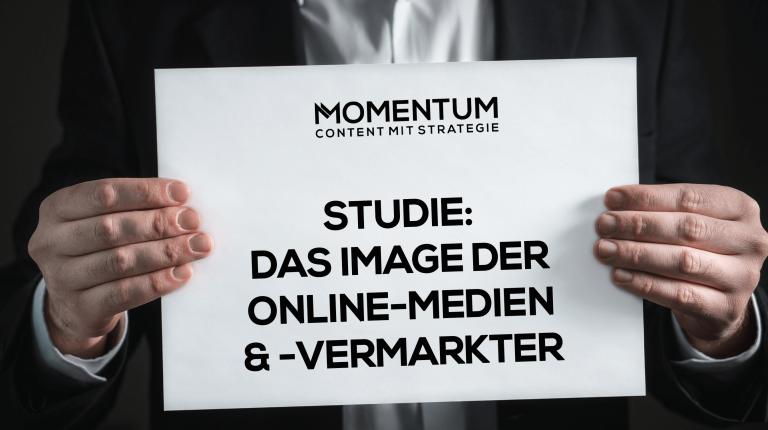 Studie: Das Image der Online-Medien und Online-Vermarkter