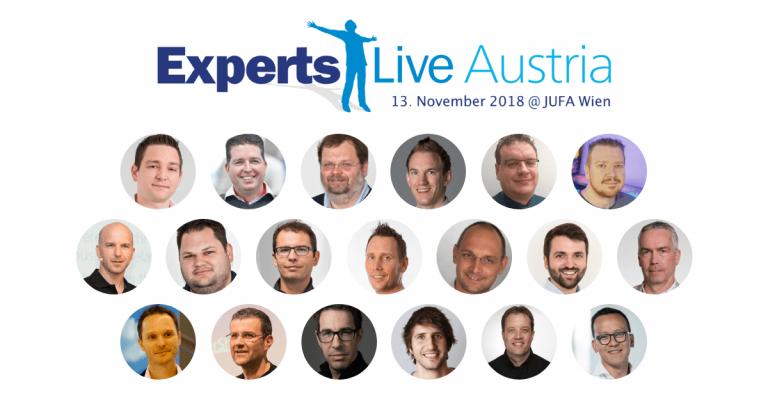 Speaker der Experts Live Austria 2018