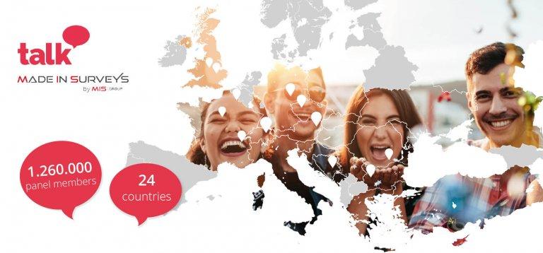 Made in Surveys und Talk vereinbaren eine strategische Partnerschaft: Insgesamt betreuen Talk Online Panel und Made in Surveys zusammen 13 lokale Büros, von wo aus sie zentral gesteuertes Feldmanagement und Projektmanagement für Studien in ganz Europa anbieten.