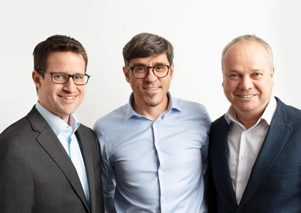 Stefan Hollaus, Andreas Jäger und Bernd Fliesser