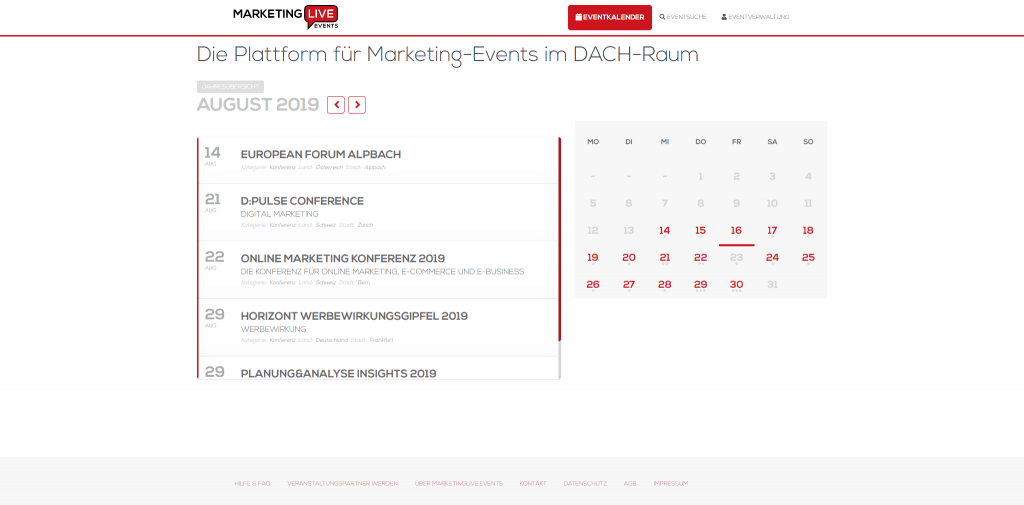 MARKETINGLIVE.EVENTS