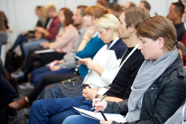 Publikum der JETZT Konferenz