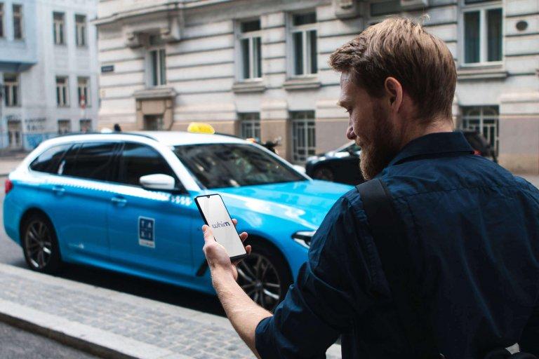 Whim App Vienna Taxi