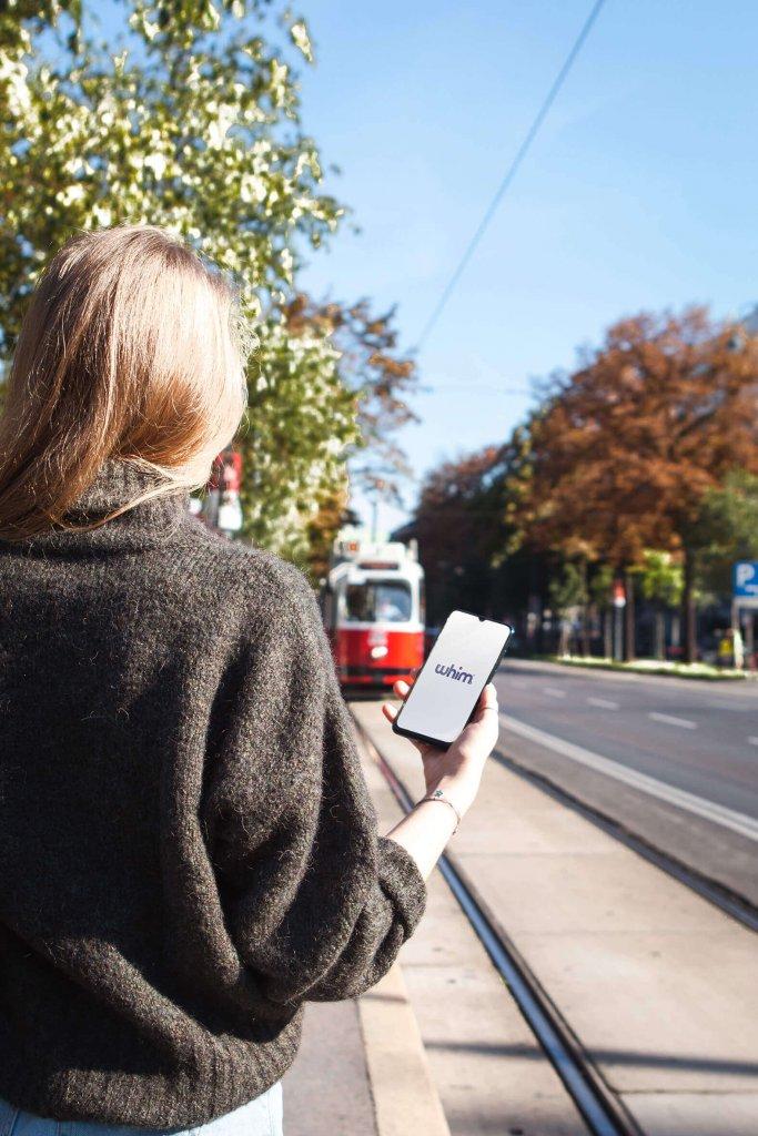 Whim App Vienna Tram