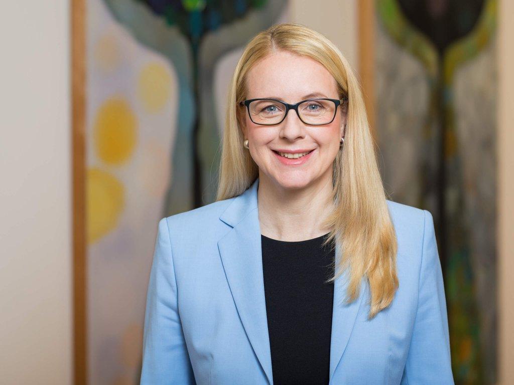 Dr. Margarete Schramböck, Bundesministerin für Digitalisierung und Wirtschaftsstandort