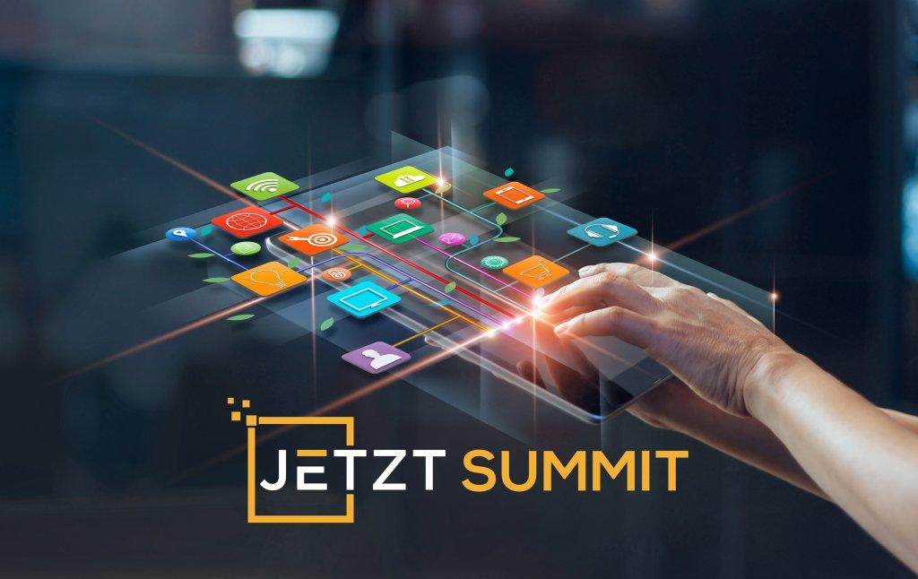 Der JETZT SUMMIT ist das ideale Konferenzformat für alle Marketing-Profis, die in Zeiten von Corona-Pandemie, Ausgangslimitierungen, Abstandsregeln und Home Office nicht den Anschluss in Sachen Digital Marketing verpassen wollen.