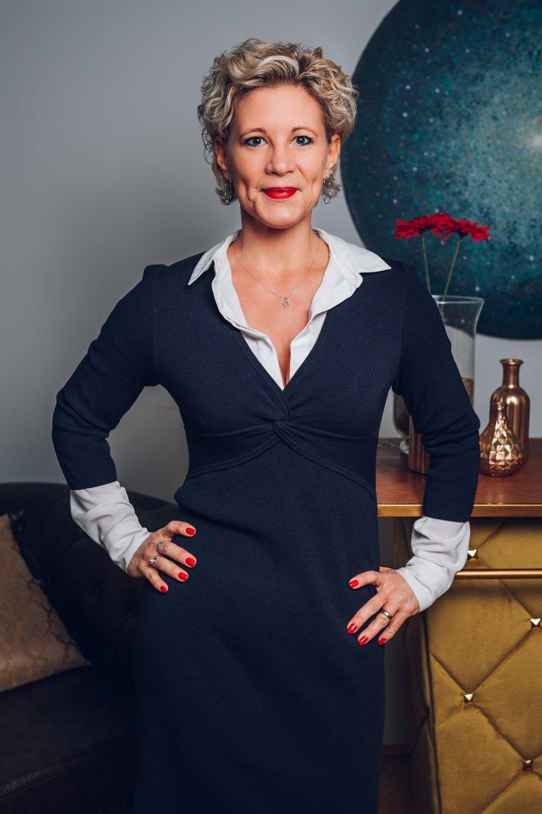 Alexandra Vetrovsky-Brychta, General Manager Forum Verlag in Österreich: